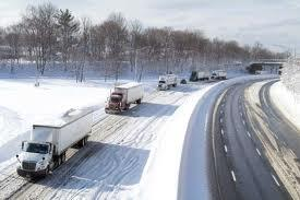 Highway Snow Auto Shippers