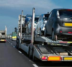 Car Shipping Company photo of transport carrier with cars