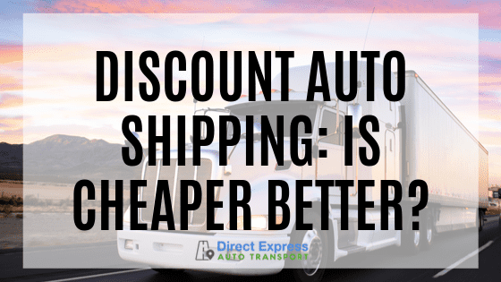 Discount Auto Shipping