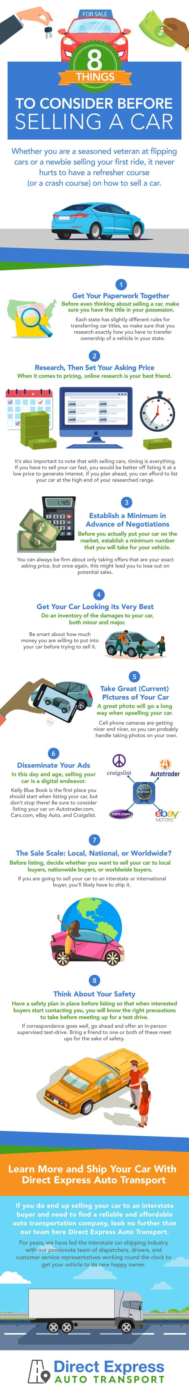 car selling tips