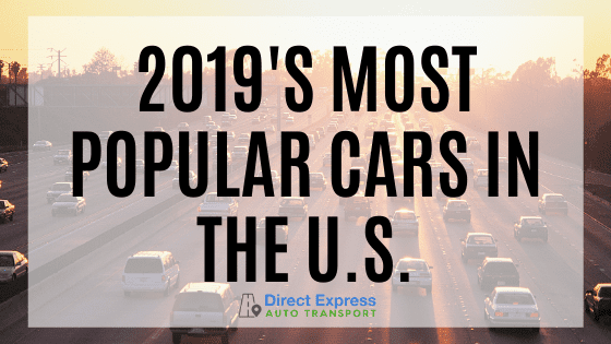 2019's Most Popular Cars In The U.S.