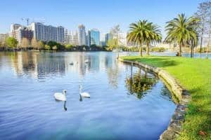 Orlando, Fl city skyline