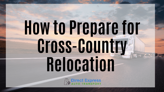How To Prepare For Cross-country Relation Graphic