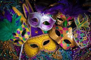 Mardi Gras Masks in New Orleans LA