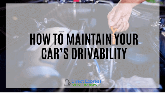 Car Maintenance - Check Your Oil