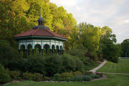 Gazebo in Eden Park, Cincinnati, Ohio