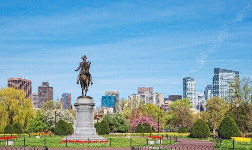 Boston, Massachusetts Public Garden