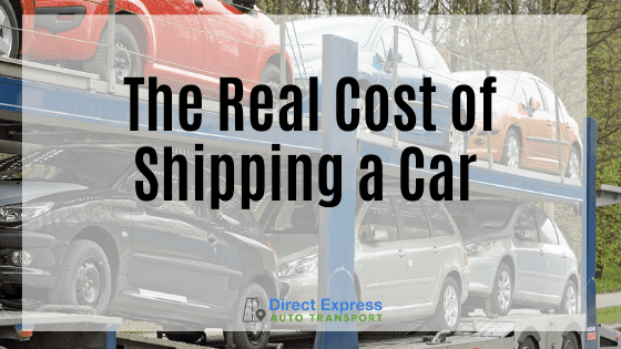 The Real Cost Of Shipping A Car